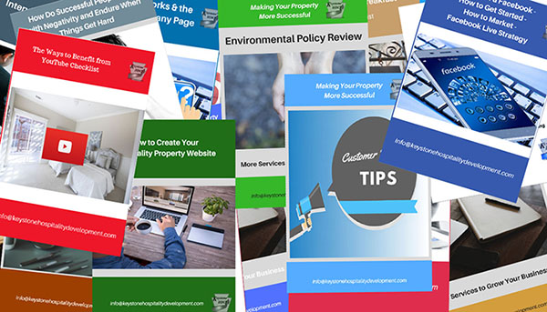 Get Your Free Hospitality Property Downloads