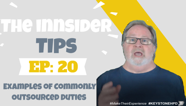 Examples of Commonly Outsourced Duties