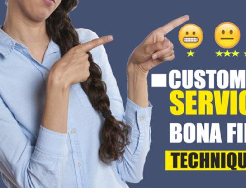 Customer Service – Bona fide Techniques | Ep. #215