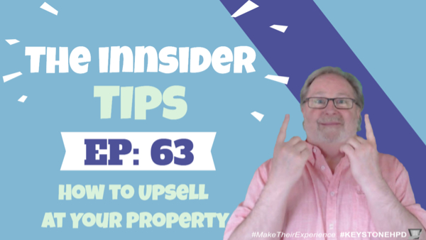 How to Upsell at Your Property