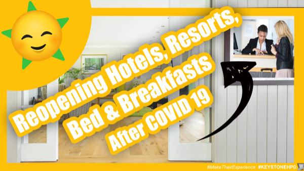 Reopening Hotels-Resorts-Inns-Bed and Breakfasts After COVID 19
