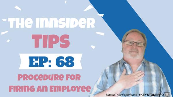 Procedure for Firing an Employee-INNsider Tips