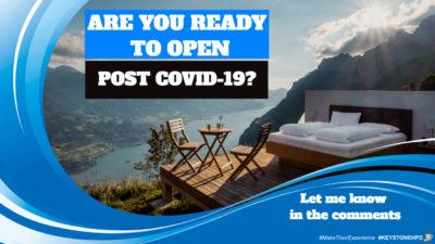 Post COVID-19 Action Plan → KeystoneHPD.com/PostCovid19ActionPlan