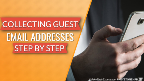 Collecting Guest Email Addresses