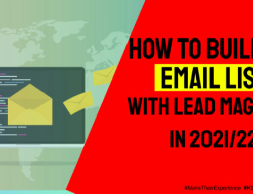 How to Build an Email List with Lead Magnets in 2021/22 | Ep. #262
