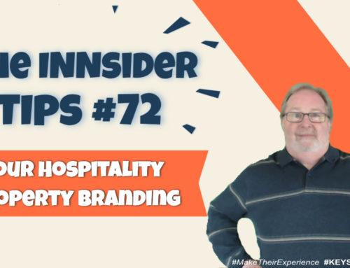 Your Hospitality Property Branding | INNsider Tips Ep. #072