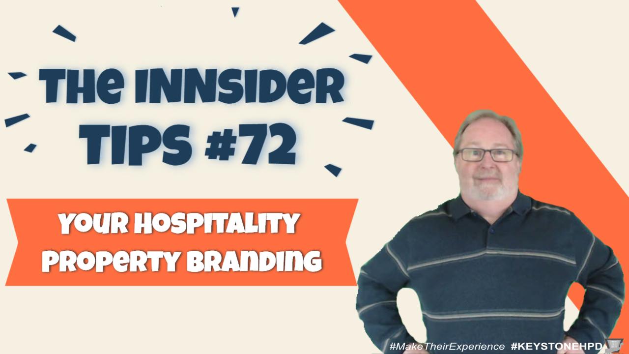 Your Hospitality Property Branding